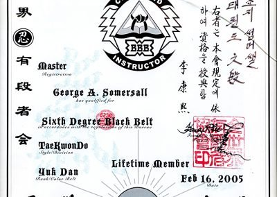2 Grand Master George Somersall - World Black Belt Bureau